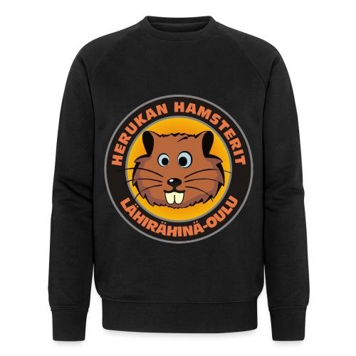 Herukan Hamsterit - Stanley & Stellan miesten luomucollegepaita