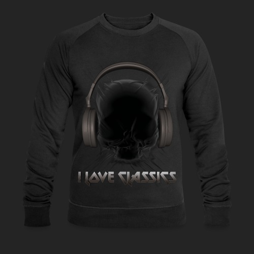 I love classics Black - Sweat-shirt bio Stanley & Stella Homme