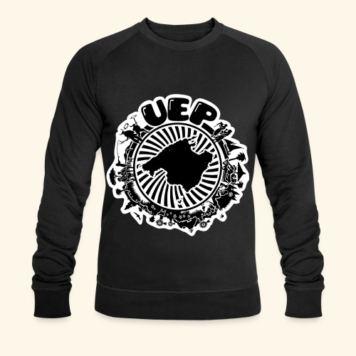 UEP white background - Men's Organic Sweatshirt