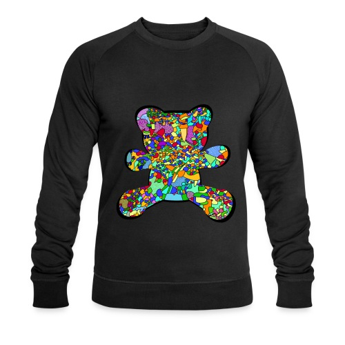 Have a colorful hug - Men's Organic Sweatshirt by Stanley & Stella