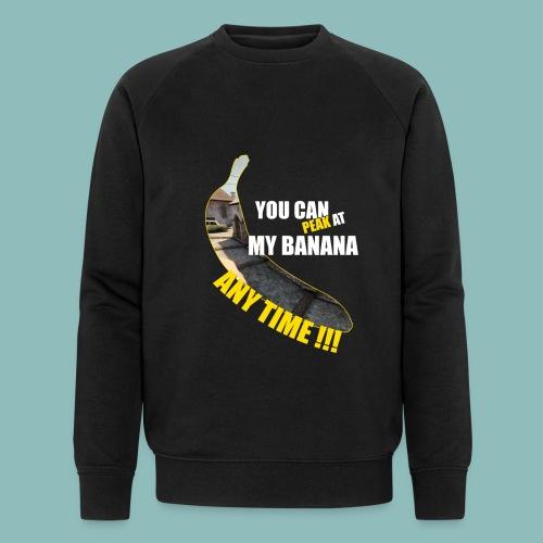 Peak my banana! - Männer Bio-Sweatshirt von Stanley & Stella