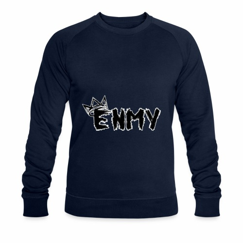 Enmy Grey Sweatshirt - Men's Organic Sweatshirt by Stanley & Stella