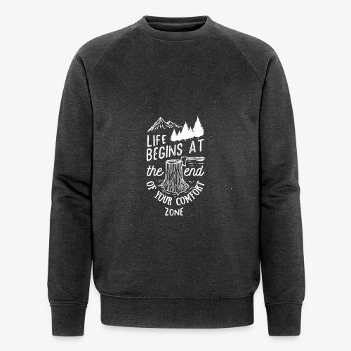 comfortzone - Men's Organic Sweatshirt by Stanley & Stella