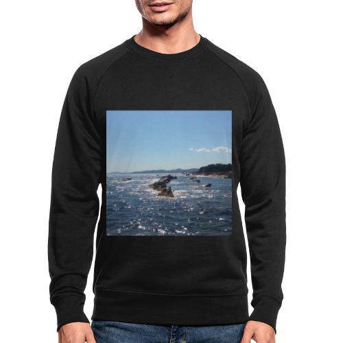 Mer avec roches - Sweat-shirt bio