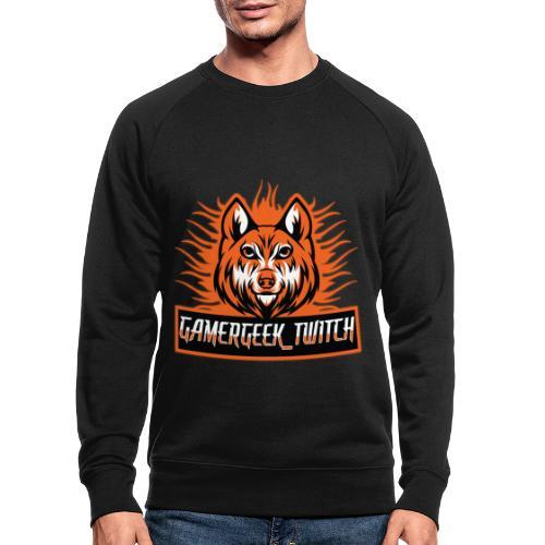 GamerGeek Logo XXXL - Männer Bio-Sweatshirt