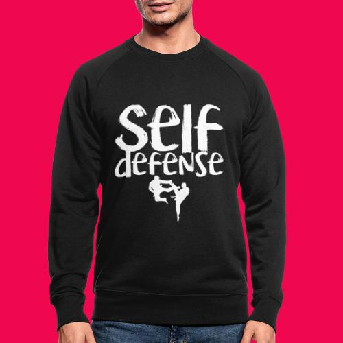 Self Defense 1.0 - Männer Bio-Sweatshirt