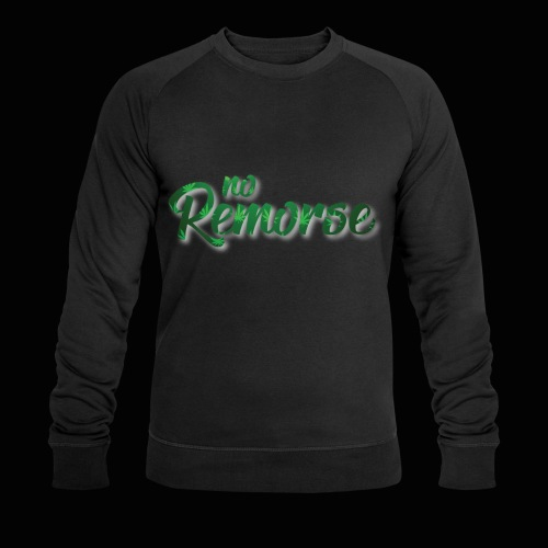 No Remorse Title With Weed No Background - Men's Organic Sweatshirt