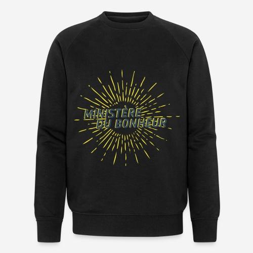 Ministère du Bonheur - Sweat-shirt bio Stanley & Stella Homme