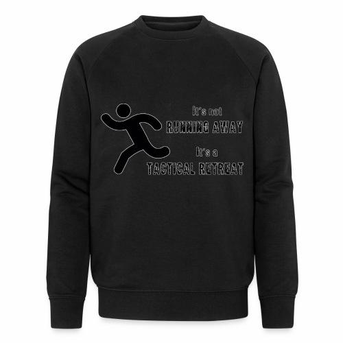 Tactical Retreat - Men's Organic Sweatshirt by Stanley & Stella