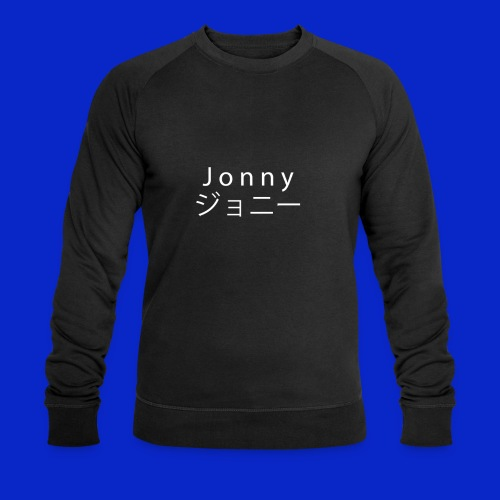 J o n n y (white on black) - Men's Organic Sweatshirt by Stanley & Stella