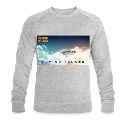 flying island - Felpa ecologica da uomo