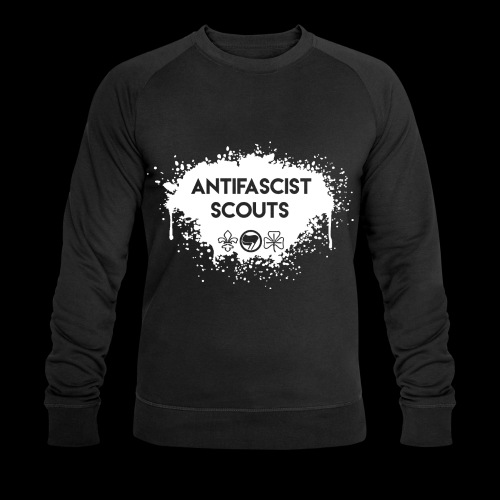 Antifascist Scouts - Men's Organic Sweatshirt by Stanley & Stella
