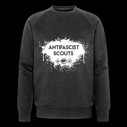 Antifascist Scouts - Men's Organic Sweatshirt by Stanley & Stella