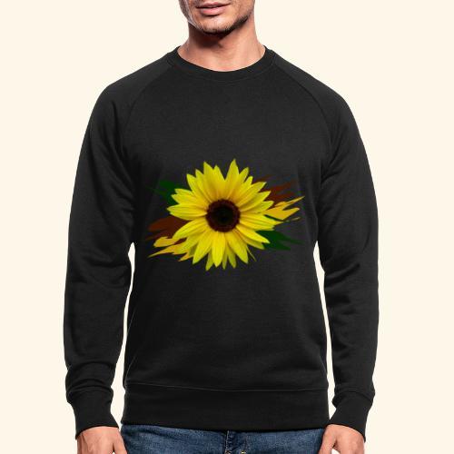 Sonnenblume, Sonnenblumen, Blume, floral, blumig - Männer Bio-Sweatshirt