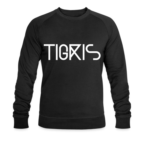 Tigris Vector Text White - Men's Organic Sweatshirt by Stanley & Stella