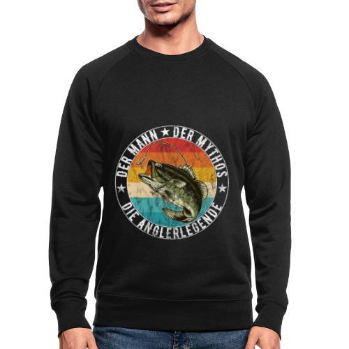 Angler - Der Mann Der Mythos Die Anglerlegende - Männer Bio-Sweatshirt