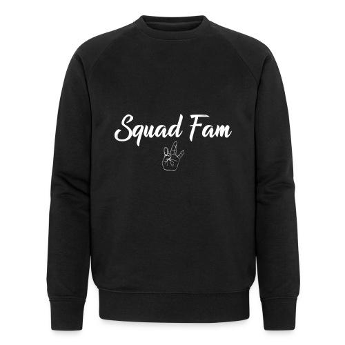 SquadFam WHITE - Ekologisk sweatshirt herr från Stanley & Stella