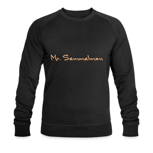 Mr Semmelman text - Ekologisk sweatshirt herr från Stanley & Stella