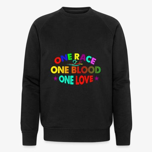 One Love reggae - Men's Organic Sweatshirt by Stanley & Stella