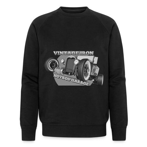 hotrod vintage grau - Männer Bio-Sweatshirt von Stanley & Stella