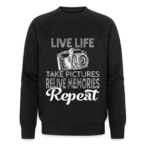 Take Pictures Skizzierter Fotoapparat Fotografie - Männer Bio-Sweatshirt von Stanley & Stella