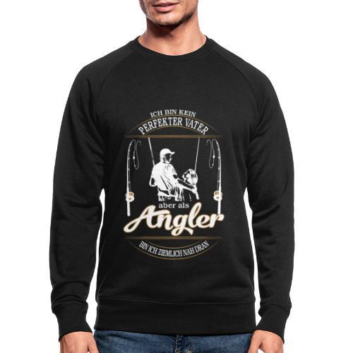 Angler Perfekter Vater - Papa und Angler Sprüche - Männer Bio-Sweatshirt von Stanley & Stella