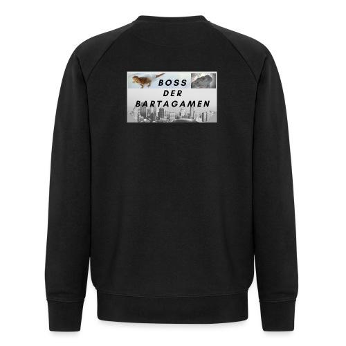 Boss der Bartagamen Hoodie Kollektion - beidseitig - Männer Bio-Sweatshirt von Stanley & Stella