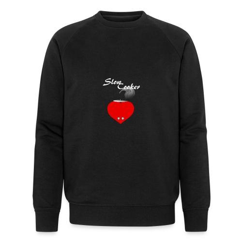 Slow Cooker - Männer Bio-Sweatshirt