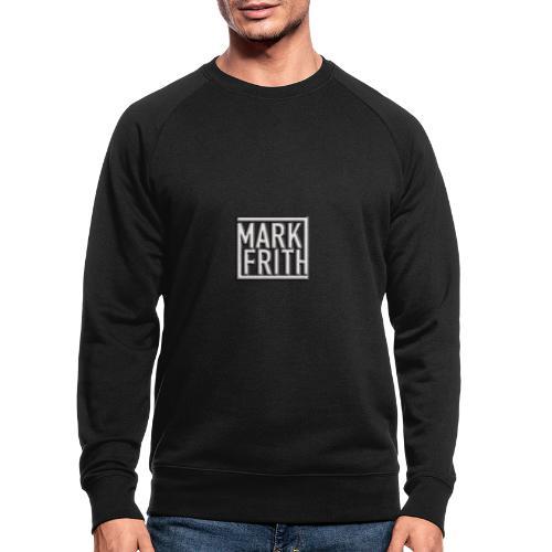 WHITE EMBOSSED LOGO - Men's Organic Sweatshirt