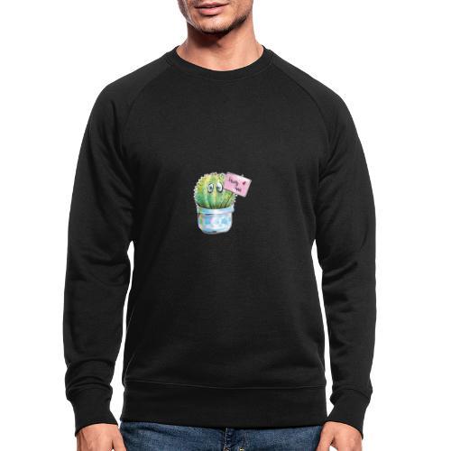 hug me - Männer Bio-Sweatshirt