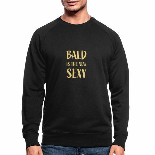 Bald is the new Sexy - Mannen bio sweatshirt