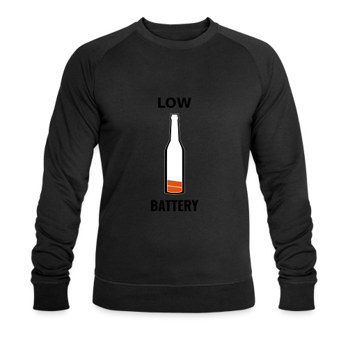 Beer Low Battery - Sweat-shirt bio Stanley & Stella Homme