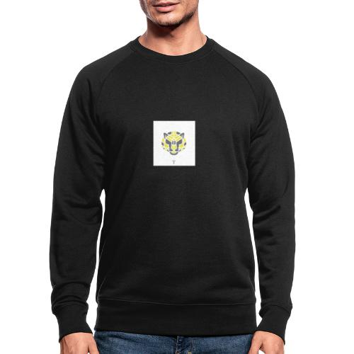 Tiger fra jungle - Økologisk sweatshirt til herrer