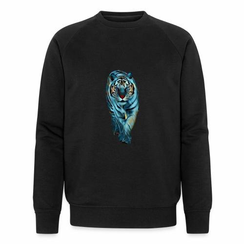 Tigre Caminando MEDIANO - Sudadera ecológica hombre