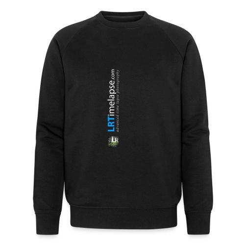 LRTImelapse Shirt Logo Vorne Hoch breiter3 png - Männer Bio-Sweatshirt