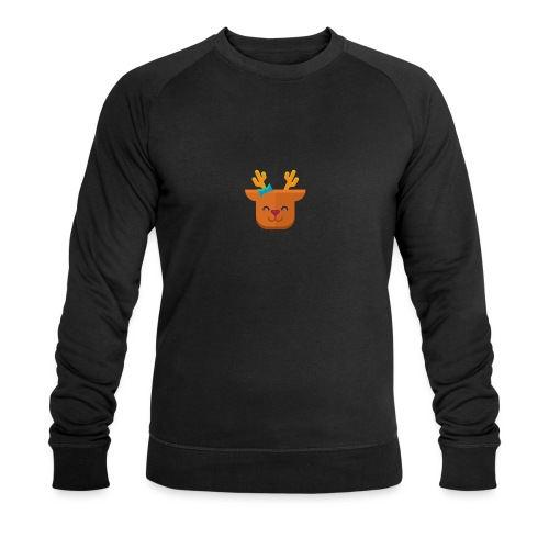 When Deers Smile by EmilyLife® - Men's Organic Sweatshirt by Stanley & Stella