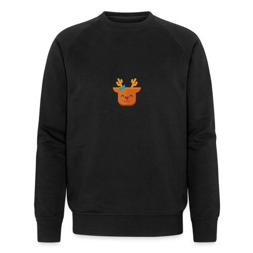 When Deers Smile by EmilyLife® - Men's Organic Sweatshirt