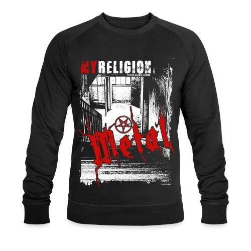METAL | LOST PLACES - Männer Bio-Sweatshirt
