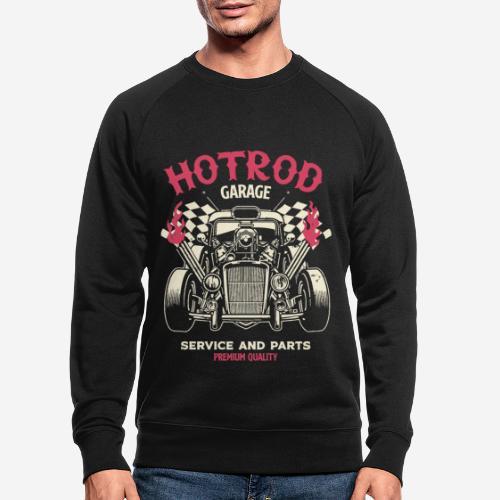 hotrod vintage cars - Männer Bio-Sweatshirt