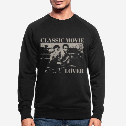 classic movie lover - Männer Bio-Sweatshirt