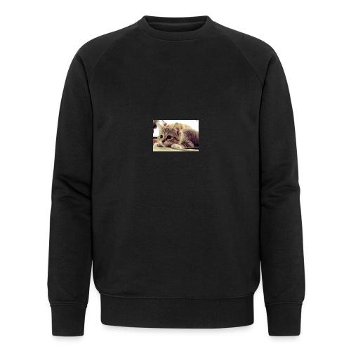 gato tierno - Sudadera ecológica hombre