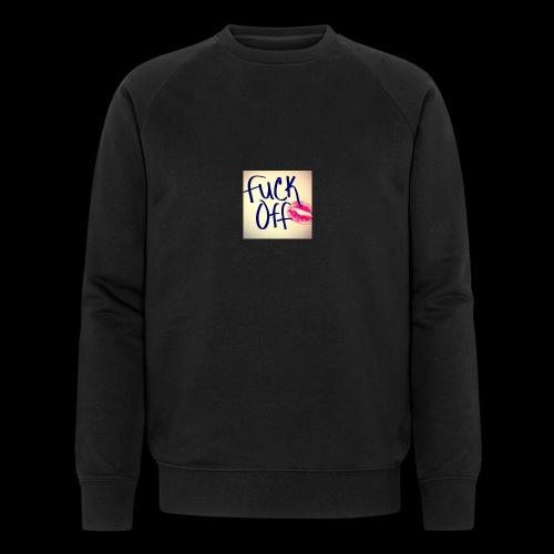 F... Off - Männer Bio-Sweatshirt