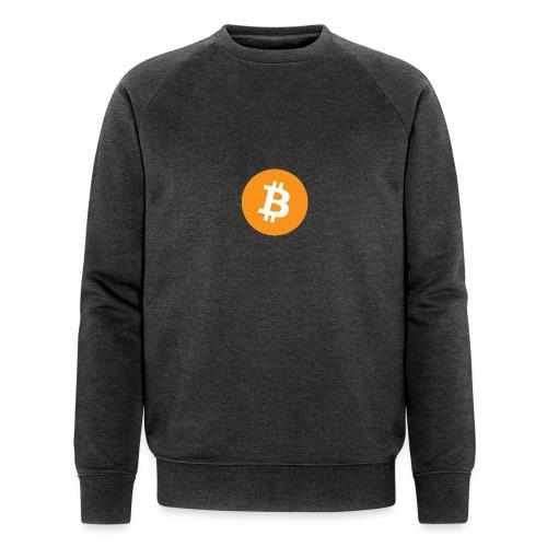 Bitcoin - Men's Organic Sweatshirt by Stanley & Stella