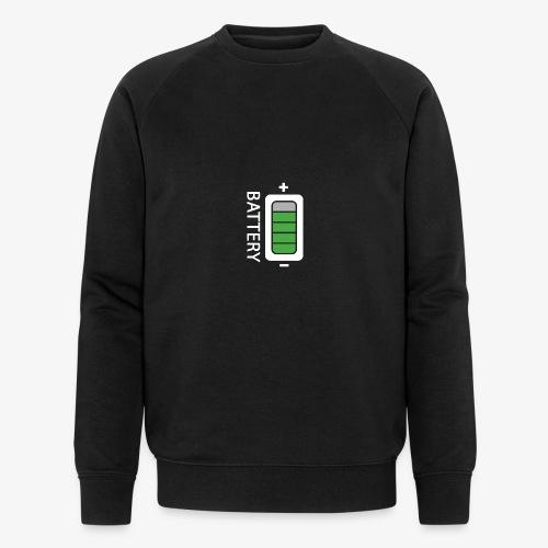 Battery - Felpa ecologica da uomo