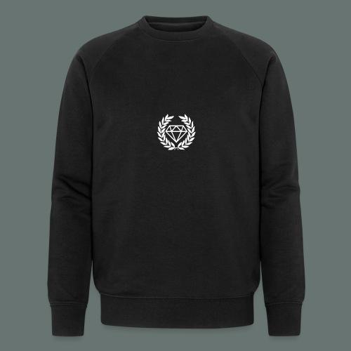 White Diamond - Men's Organic Sweatshirt by Stanley & Stella