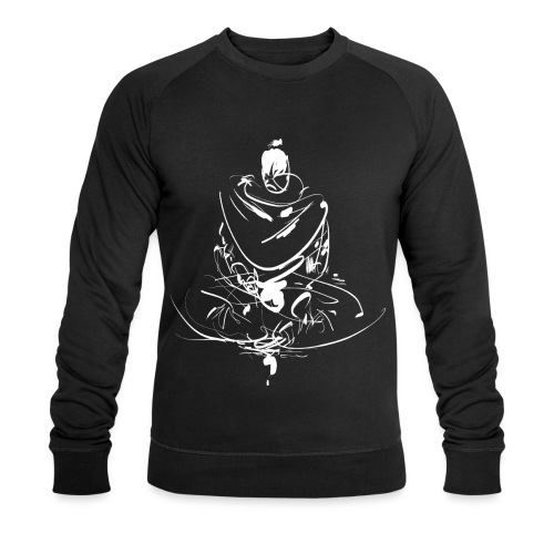 Iaido Samurai Zen Meditation - Men's Organic Sweatshirt by Stanley & Stella