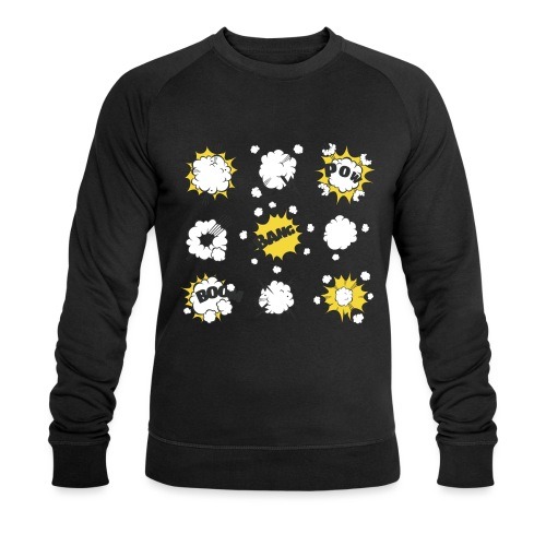 Astonishing explosion - Men's Organic Sweatshirt by Stanley & Stella