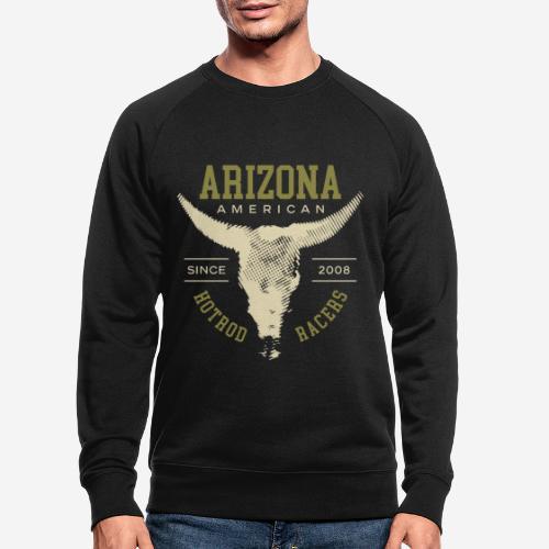 arizona hotrod racer - Männer Bio-Sweatshirt