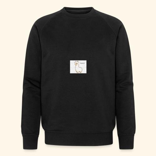 lama / alpaca - Männer Bio-Sweatshirt von Stanley & Stella