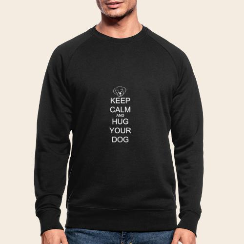 embrasse ton chien - Sweat-shirt bio